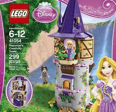 NEW LEGO Disney Princess Rapunzel's Creativity Tower TOY SET GIRLS TOYS game FUN #LEGO