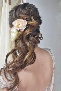 swept-back wedding hairstyles 3