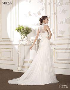 SALGAR | Wedding Dress | 2015 Romantic Collection | by Sara Villaverde | Villais (back)