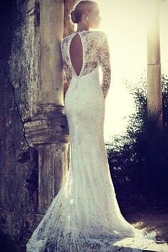 Vestido de noiva que pode ser de madrinha, se for colorido e sem calda! Repinando.....sim[plesmente lindo!