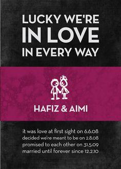 anniversary poster : aimi