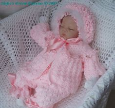 Lilac Blossom Set Crochet Pattern #26