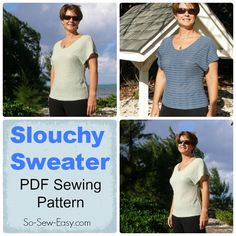 New pattern release - Slouchy Sweater