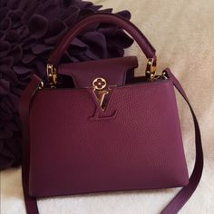 Lv capucine bb Used few days,size small Louis Vuitton Bags Crossbody Bags - Handbags & Wallets - http://amzn.to/2hEuzfO