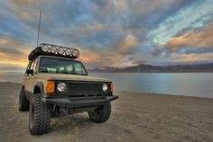 Isuzu Trooper - work in progress - Bug out vehicle - off road and survival. How my baby will look. Hopefully