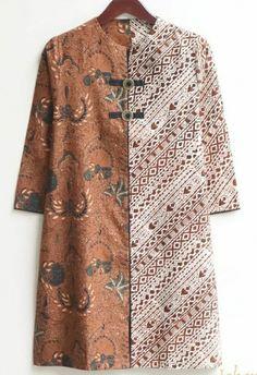 Blouse Batik, Batik Dress, Party Wear Indian Dresses, Pakistani Dresses, Stylish Dresses, Casual Dresses For Women, Kebaya Moden, Thrift Store Fashion, Batik Fashion