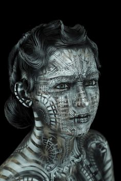 amazing body paint!