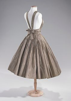 Norell Cocktail Dress - c. 1955 - by Norman Norell (American, 1900-1972) - Manufacturer: Traina Norell (American, founded 1941) - Silk - The Metropolitan Museum of Art - @~ Mlle