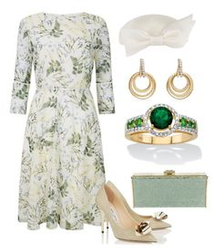 """Princess Armel visits the state hospital of St. Catherine"" by claire-hamilton-bristol on Polyvore featuring мода, David Yurman, Judith Leiber и Palm Beach Jewelry"