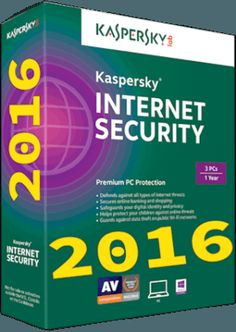 Kaspersky Internet Security 2016 With Crack+Serial Key