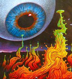 Open your eyes to marijuana edible candies you make easily yourself! This book… Psychedelic Space, Dragon's Teeth, Stoner Art, Dark Circles Under Eyes, Age Of Aquarius, Eye Art, Sacred Geometry, Trippy, Dark Art
