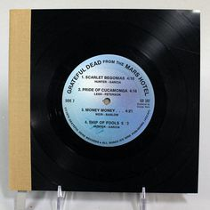 Vintage Vinyl Journal Grateful Dead From The Mars Hotel
