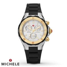 Michele Women's Watch Chronograph Tahitian Jelly Bean