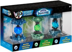 Figurine Skylanders Imaginators : Triple Pack - Eau + Air + Vie, Figurines pas cher Amazon