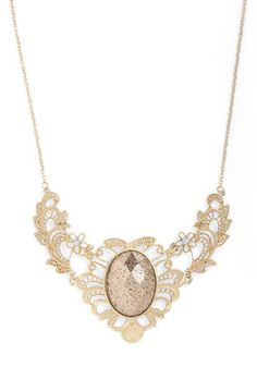 Versailles of the Times Necklace, #ModCloth