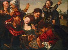 The Calling of Matthew - Jan van Hemessen - WikiPaintings.org