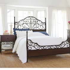 Tatum Metal Bed or Headboard found at @JCPenney | Julie | Pinterest ...