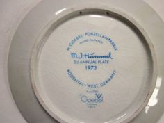 Hummel — Goebel — Globetrotter 1973 Plate - http://get.sm/bkP2Yn2 #tradebank Collectibles,Chattanooga TN