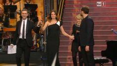 #Sanremo: Kasia Smutniak incinta sul palco dell'Ariston
