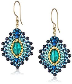 Miguel Ases Blue Gold Stone Lotus Earrings Miguel Ases http://smile.amazon.com/dp/B008BQD7ZU/ref=cm_sw_r_pi_dp_shDovb11VDZW5