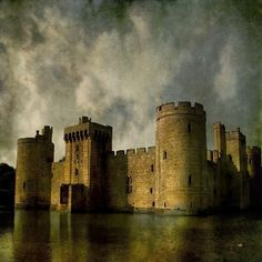 """""""Bodiam Castle"""" by Lydia Marano, Crestline, CA //  // Imagekind.com -- Buy stunning, museum-quality fine art prints, framed prints, and canvas prints directly from independent working artists and photographers."""