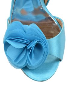 Blossom Silk Ruffle Pump - Style # : BLOSSOM - PINK - $200.00 ...