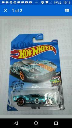 '92 Ford Mustang Aqua Teal Green Speed Blur 2019 Hot Wheels G Case Rare VHTF