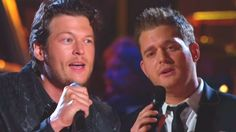Country Music Lyrics - Quotes - Songs Blake shelton - Blake Shelton and Michael Buble - Home (Live) (WATCH) - Youtube Music Videos http://countryrebel.com/blogs/videos/18172363-blake-shelton-and-michael-buble-home-live-watch