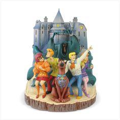 Scooby-Doo: Carved by Heart - Statue - Enesco / Sideshow - Merchandise & Fanartikel Online Shop William Hanna, Monsters Inc, Dark Phoenix, Thundercats, Futurama, Boba Fett, Blade Runner, Ghostbusters, Grooms
