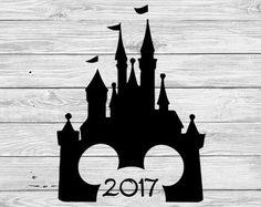 Disney Castle Iron On Transfer Printable Family by DuckyDigital