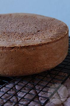 Chocolade biscuit en een recept voor een vanille biscuit, twee goede basis recepten   HandmadeHelen