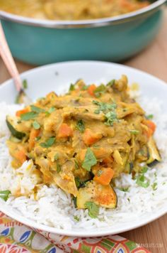 Slimming Eats Coconut Chicken and Sweet Potato Curry - gluten free, dairy free, paleo, Whole30, Slimming World, Instant Pot and Weight Watchers friendly