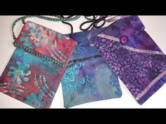 Sew Your Own Cell Phone Purse - Episode 9 - YouTube. But do not use chenille yarn for a strap; it has too weak a core and is easily frayed. myb