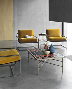 Discover Olimpia the chair by Frag. A vast range of design chairs and armchairs, the result of Italian manufacturing ability. Furniture Decor, Furniture Design, Modern Office Design, Coffee Table Design, Coffee Tables, Small Tables, Side Tables, Chair Design, Decorating Your Home