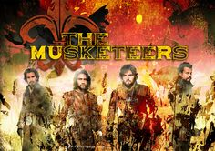 The Musketeers graphic that I've created (cathelms).
