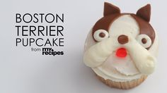 Would you love to make Boston Terrier dog Cupcakes? 😀 The Recipe is here ► http://www.bterrier.com/?p=30899 - https://www.facebook.com/bterrierdogs