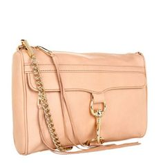Rebecca Minkoff MAC Clutch in Sand with Light Gold Hardware Rebecca Minkoff Handbags, Peach Colors, Leather Crossbody, Crossbody Bags, Shoe Bag, My Style, Mac, Gold Hardware, Things To Sell