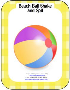Math Coach's Corner: Beach Ball Shake and Spill; easily differentiated game for composing and decomposing numbers