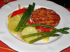 Paleo Salmon Patty with Sautéed Veggies