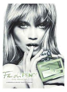 "FENDI ""FAN DI FENDI EAU FRAICHE"" FRAGRANCE AD CAMPAIGN #perfume Get this perfume for just $14.95/month www.scentbird.com"