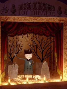 """Light Fantastic Toy Theatre"" by Richard Yot"