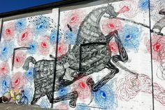 New Murals from the Richmond VA Street Art Festival