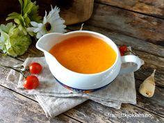 Bretagnesaus - Fra mitt kjøkken Gravy, Fondue, Cheese, Ethnic Recipes, Dressing, Red Peppers, Salsa, Sauces