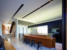 The Palissandro House by Shaun Lockyer Architects features a rosewood facade that plays with light and shade   www.terenceyam.net