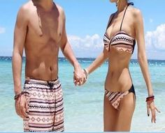 Valentine's Special: Matching Couple Swimsuits