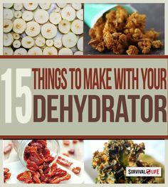 Whether you're looking for a healthy snack, food for an upcoming camping trip, or non-perishable items to add to your emergency food supply, dehydrated food is the answer.  Dehydrated fruits, vegetables, and meats have a long shelf life, making dehydrated food great to stockpile as part of your emergency food supply. Dehydrated foods last