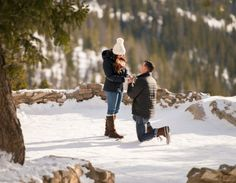 Proposal Sapphire Point Overlook Dillon CO Winter