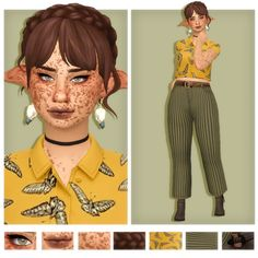 chaotic and stupid: Photo Sims 4 Mm Cc, Sims Four, Sims 4 Mods Clothes, Sims 4 Clothing, Sims 4 Cas, My Sims, Sims 4 Collections, Pelo Sims, The Sims 4 Packs