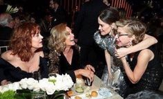Jessica Lange and Susan Sarandon at the Emmys 2017