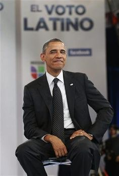 President Barack Obama. Life is good. I LOVE this expression! Makes me smile and shake my head.. .